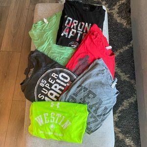 Lot of 6 men's t-shirts
